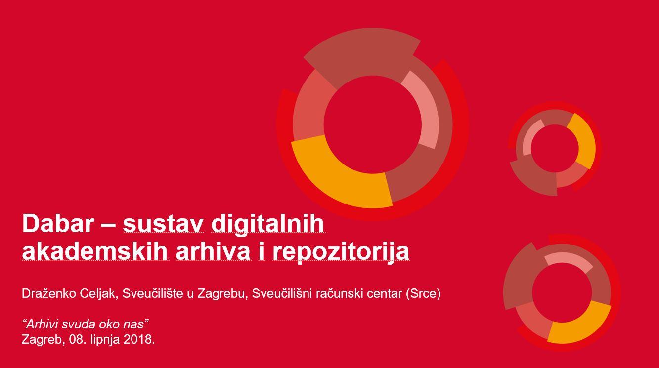 Dabar - sustav digitalnih akademskih arhiva i repozitorija